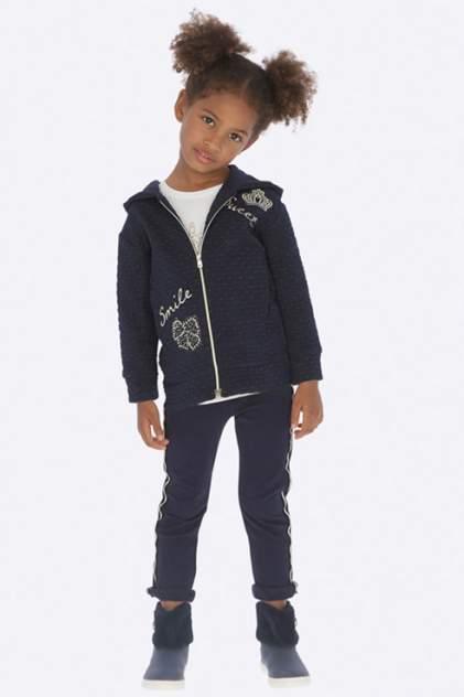 Спортивный костюм для девочки Mayoral, цв.синий, р-р 110