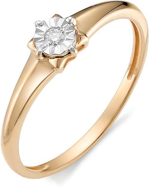 Кольцо женское АЛЬКОР 11969-100 р.17