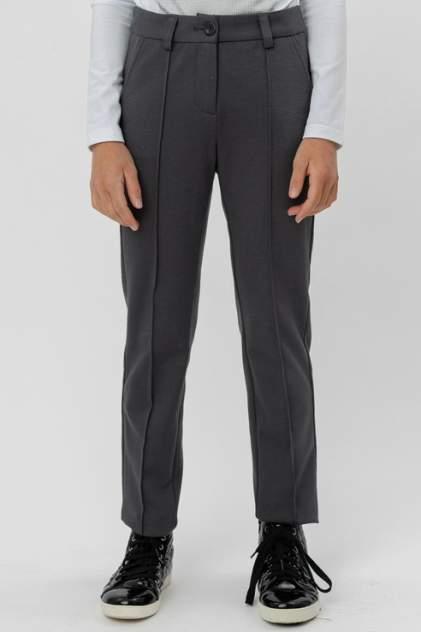 Классические брюки Button Blue 220BBGS56020100 цв.серый р.152