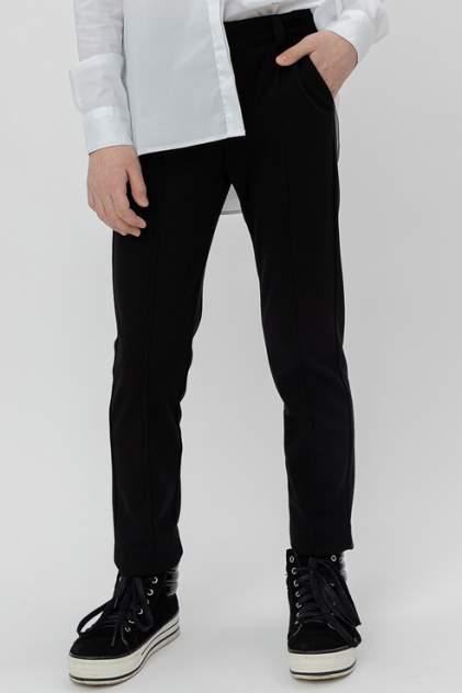 Твиловые брюки Button Blue 220BBGS63020800 цв.черный р.158