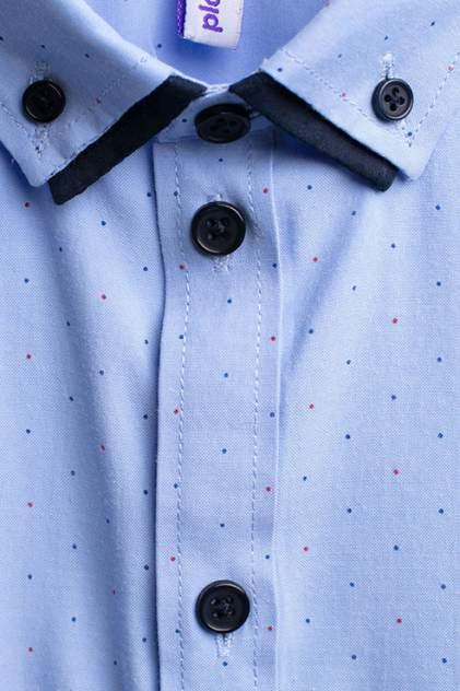 Рубашка для мальчика PlayToday, цв.голубой, р-р 128