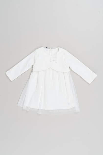 Платье для девочки iDO, цв.бежевый, р-р 74