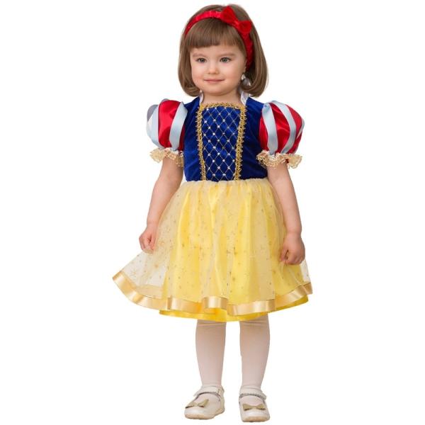 Карнавальный костюм Принцесса Белоснежка , размер 26