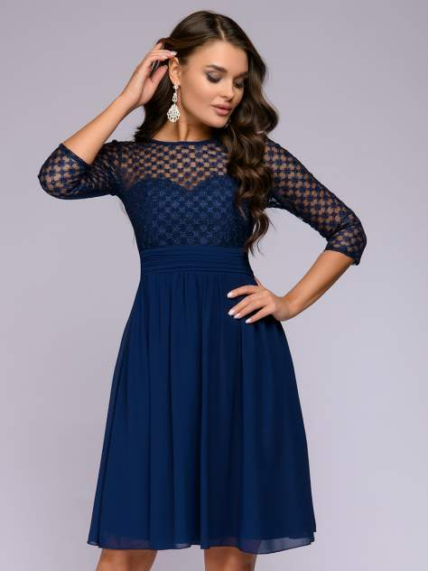 Женское платье 1001dress 0122001-30117DB, синий