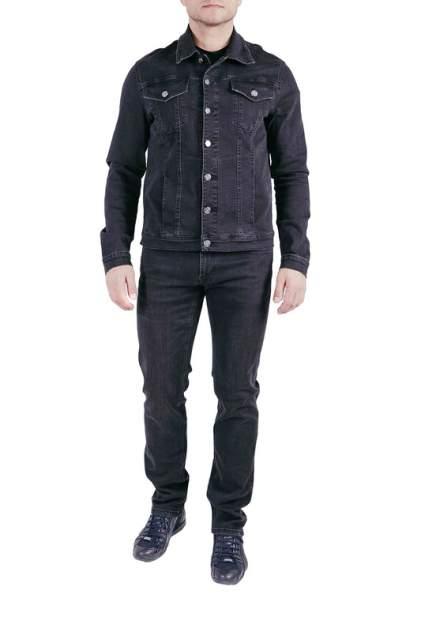 Джинсовая куртка мужская CUDGI CLUB S1101V2 серая 3XL