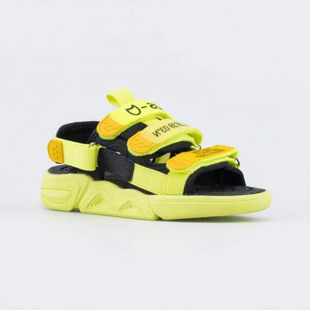 Пляжная обувь для мальчиков Котофей 524076-11 зеленый р.32