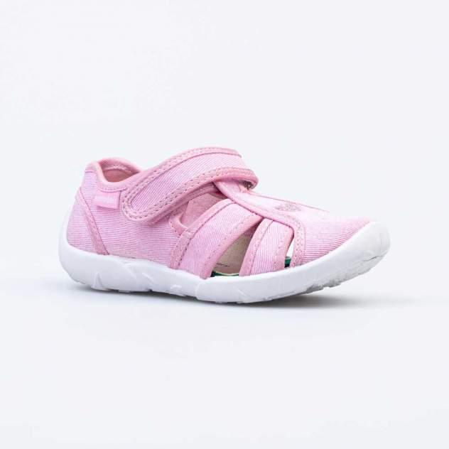 Текстильная обувь для девочек Котофей 421072-11 розовый р.27
