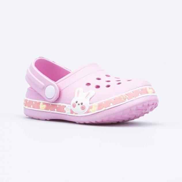 Пляжная обувь для девочек Котофей 325103-01 розовый р.23
