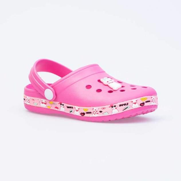 Пляжная обувь для девочек Котофей 525086-01 розовый р.32