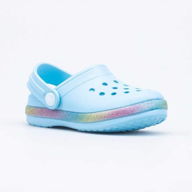 Пляжная обувь для девочек Котофей 325114-02 голубой р.26