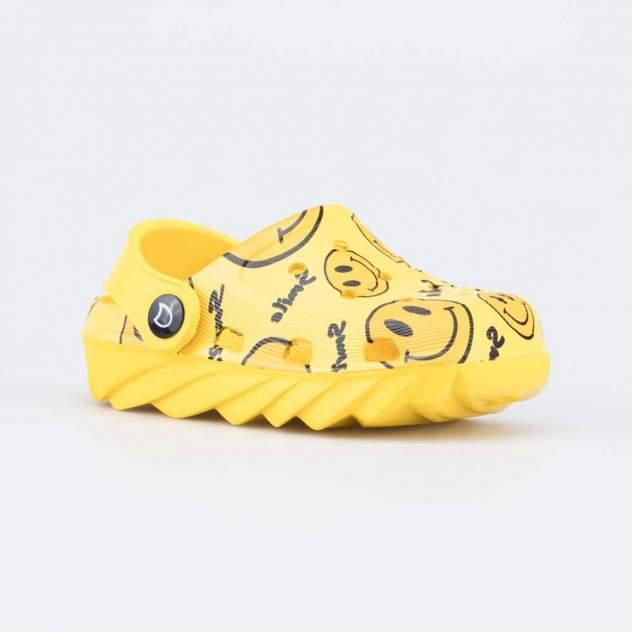 Пляжная обувь для мальчиков Котофей 325108-01 желтый р.27