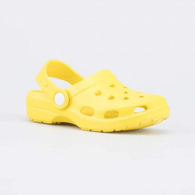 Пляжная обувь для мальчиков Котофей 325081-02 желтый р.24