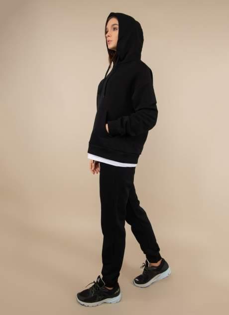 Спортивные брюки женские Каляев 158673 черные 46-48