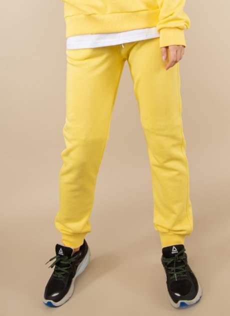 Спортивные брюки женские Каляев 158673 желтые 54-56
