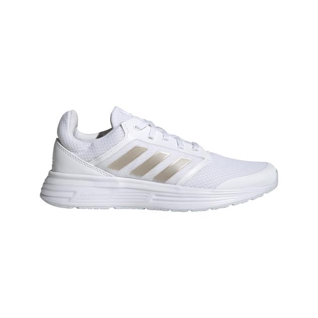 Кроссовки женские Adidas Galaxy 5 белые 4 UK