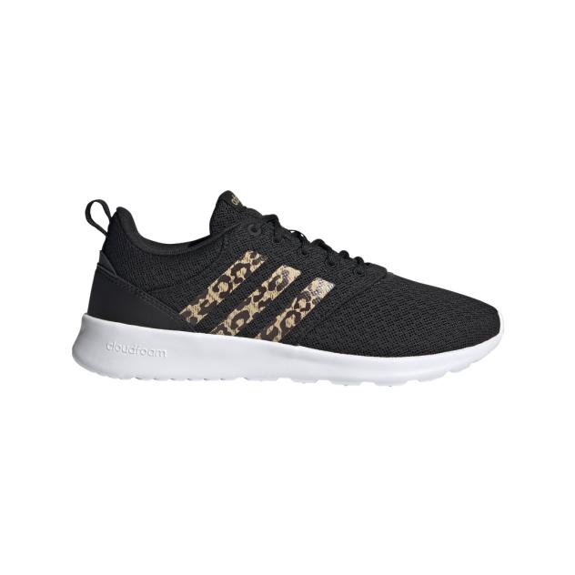 Кроссовки женские Adidas QT Racer 2.0 черные 5 UK