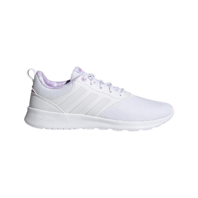 Кроссовки женские Adidas QT Racer 2.0 белые 4 UK