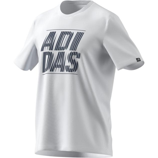 Футболка мужская Adidas GL2971 белая XL