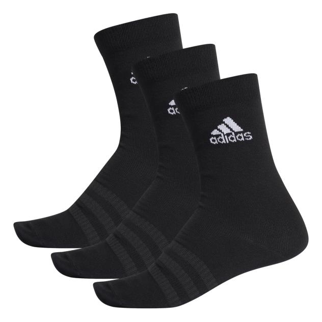 Набор носков унисекс Adidas DZ9394 черный XS
