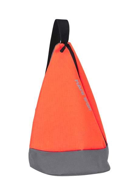 Рюкзак женский Kari A45803 оранжевый/серый