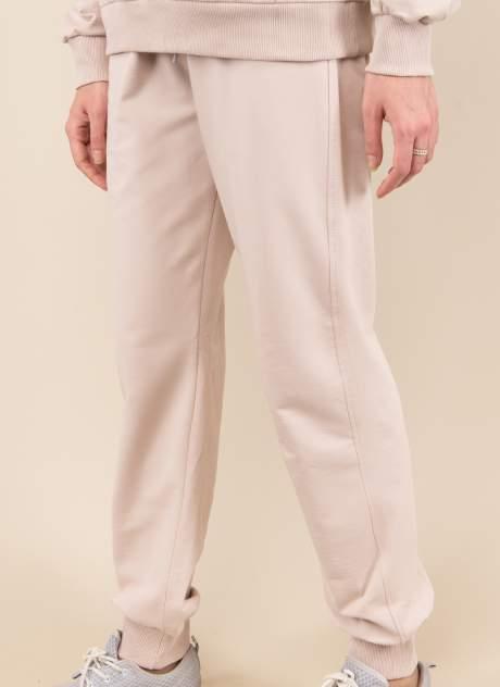 Спортивные брюки женские Каляев 158673 бежевые 44
