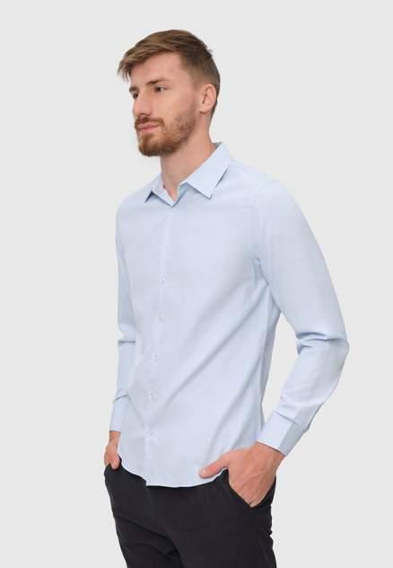 Рубашка мужская Modis M212M00131T020, голубой