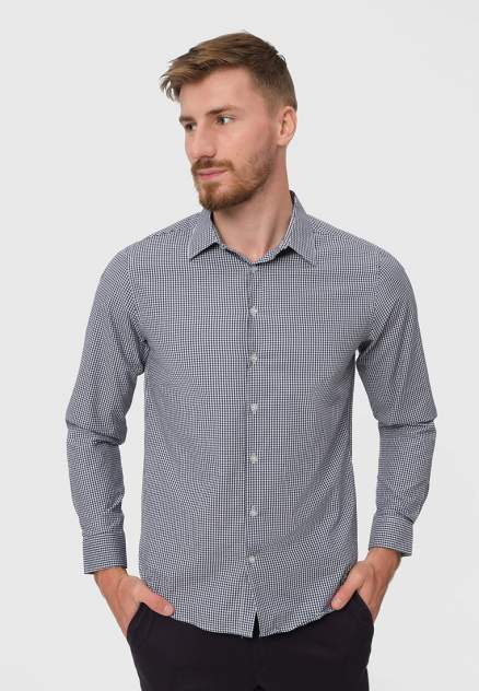 Рубашка мужская Modis M212M00212A754, синий