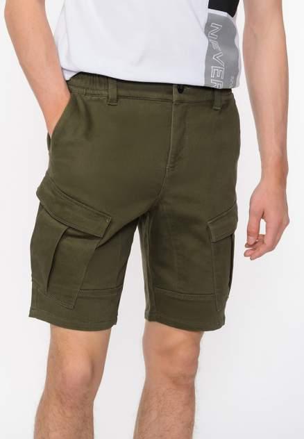 Повседневные шорты мужские Modis M201M00408 зеленые 48
