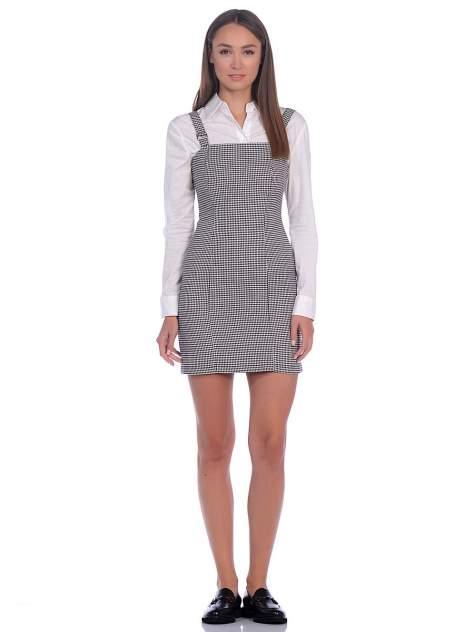 Платье-сарафан женское Modis M202W00269 серое 48