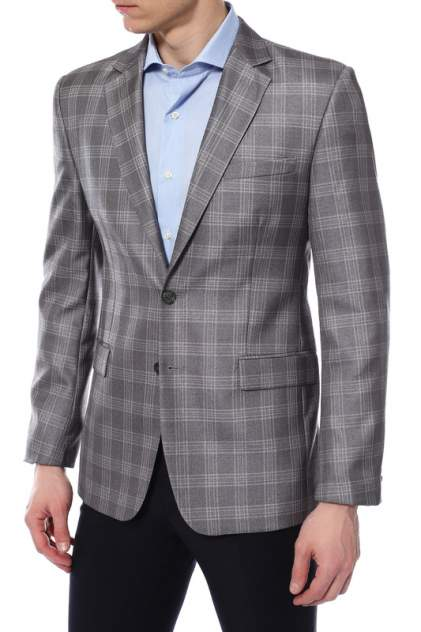 Пиджак мужской ABSOLUTEX 4021-2 M LAKBI серый 50-176