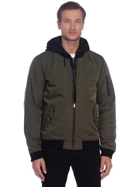 Куртка мужская Modis M202M00172 зеленая 50