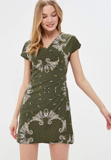 Повседневное платье женское Modis M191W00639 разноцветное 50