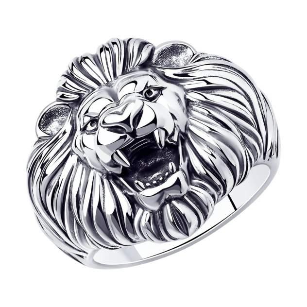 Кольцо мужское SOKOLOV 95010161 из серебра, р. 18.5