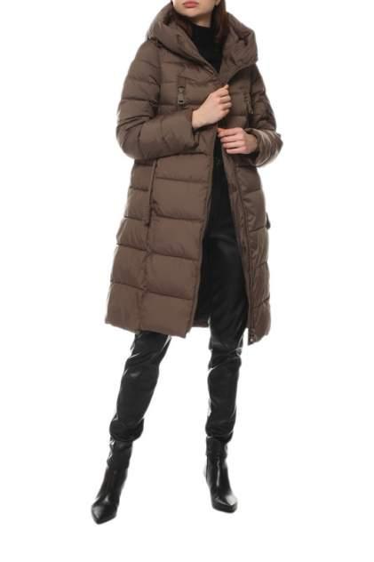 Пуховик-пальто женский СНЕЖНАЯ КОРОЛЕВА 247525000 коричневый 46