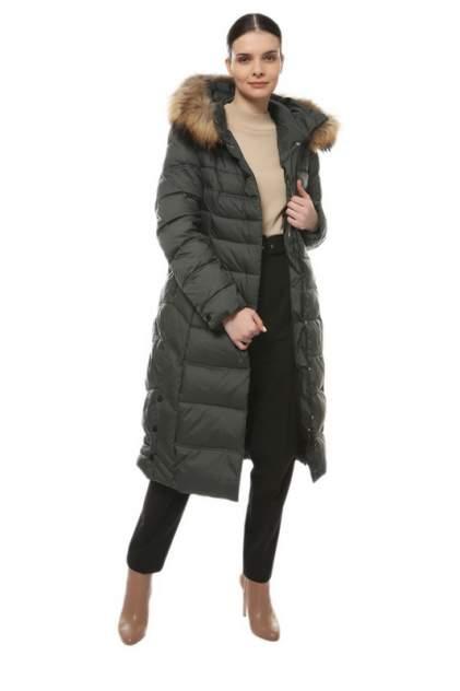 Пуховик-пальто женский La Reine Blanche 375867000 серый 44