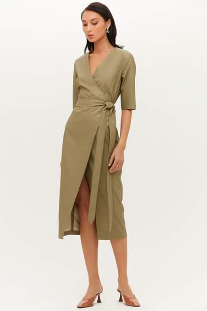 Повседневное платье женское LOVE REPUBLIC 1151251569 зеленое 50-170
