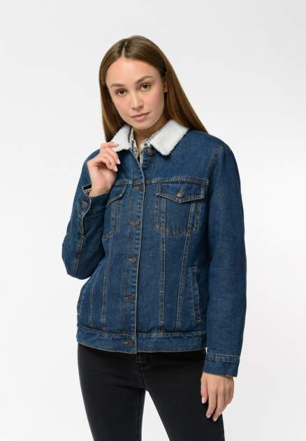Женская джинсовая куртка Modis M202D00073, синий