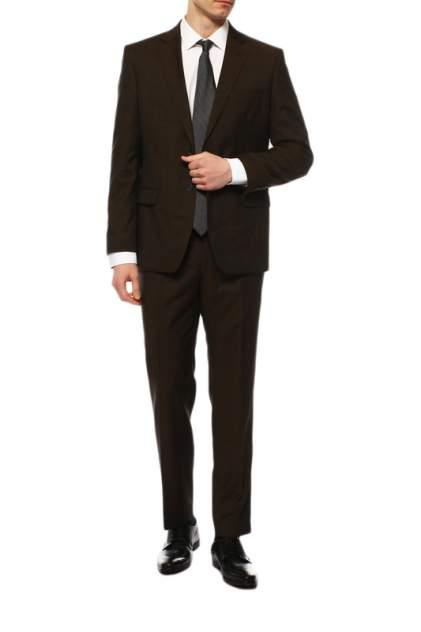 Классический костюм мужской BAZIONI 3221 M ISONSO LUX коричневый 62-176
