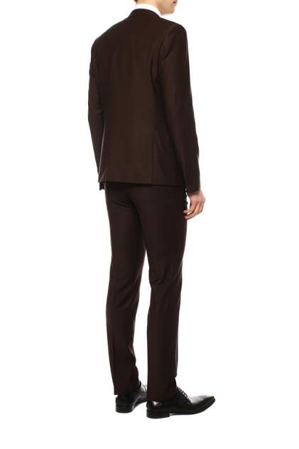 Классический костюм мужской BAZIONI 3321 US POINT LUX коричневый 52-176