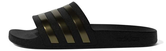 Шлепанцы мужские Adidas Adilette Aqua черные 9 UK
