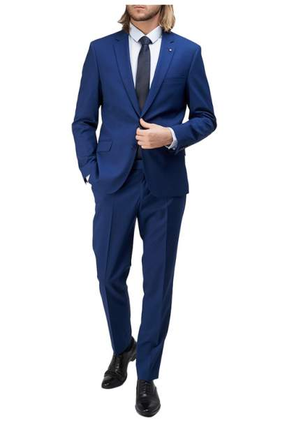 Классический костюм мужской BAZIONI 5421 S JAGUAR LUX синий 48-176