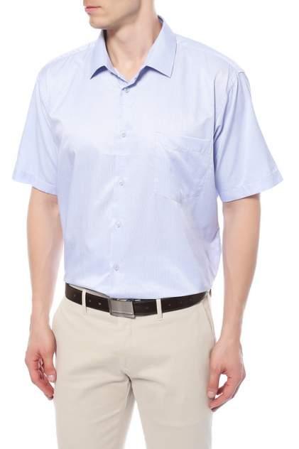 Рубашка мужская GENUS GLAD GG013T голубая 4XL