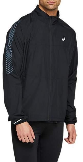 Спортивная ветровка Asics Icon, черный, серый