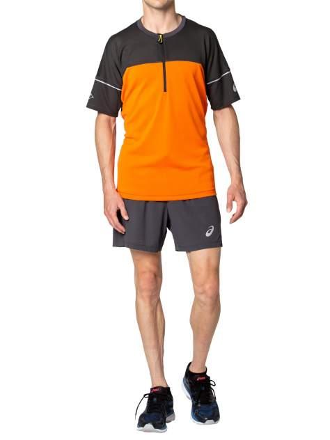 Футболка Asics Fujitrail, marigold orange, M