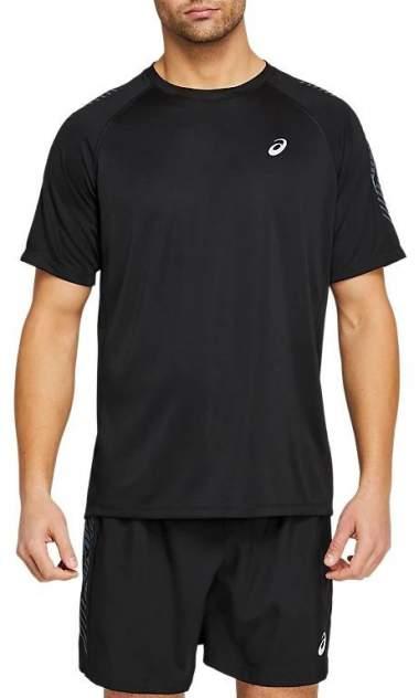 Футболка Asics Icon SS, performance black/carrier grey, L
