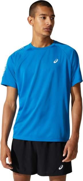 Футболка Asics Icon SS, reborn blue/brilliant white, L