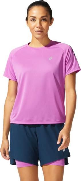 Спортивная футболка Asics Icon SS W, фиолетовый
