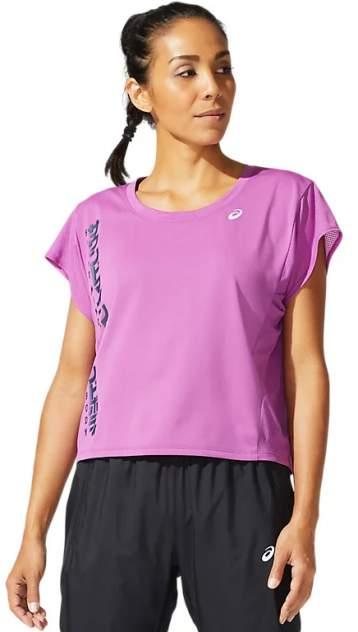 Спортивная футболка Asics Smsb Run SS, фиолетовый