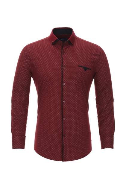 Рубашка мужская BAWER RZ2112001 красная XL