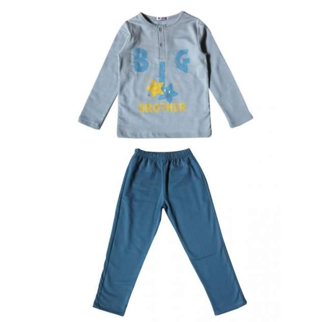 Пижама для мальчиков Samo цв. серый р-р. 128